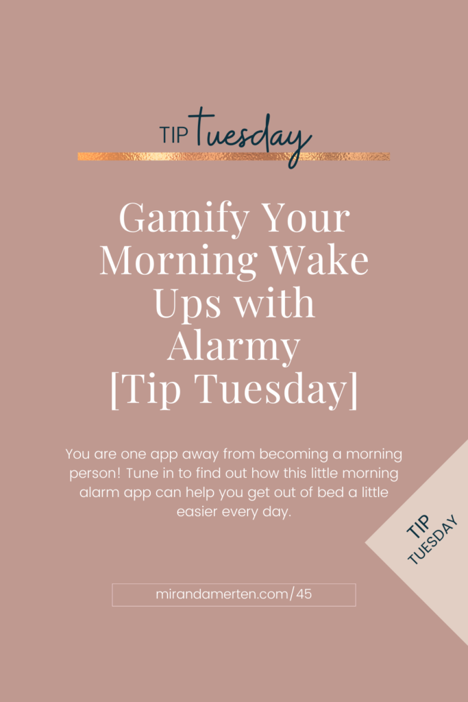 Gamify Your Morning Wake Ups with Alarmy
